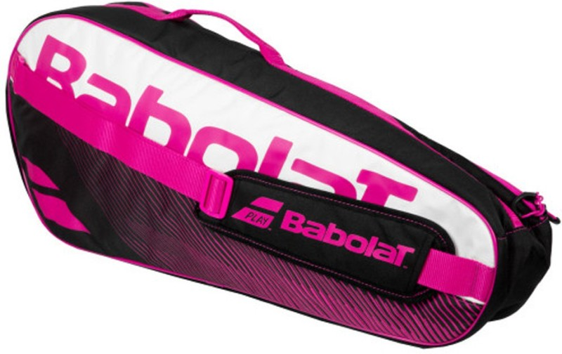 Babolat RACKET HOLDER ESSENTIAL CLUB x3 Tennis (Pink) KIT BAG(Pink, Kit Bag)
