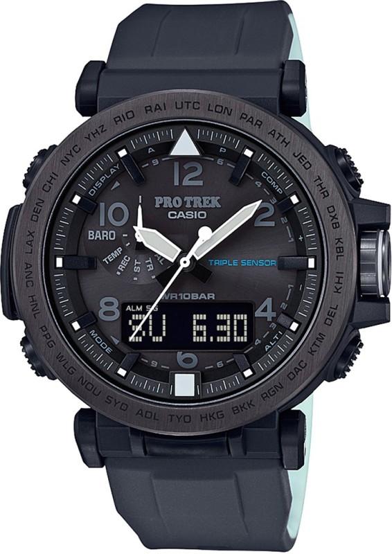 Casio SL100 Protrek Analog-Digital Watch - For Men