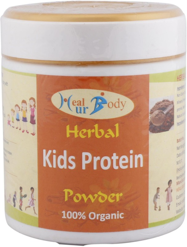 Healurbody Herbal Kids Protein Powder Chocolate Flavored Powder(200 g)