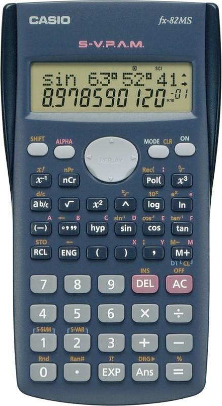 Casio FX-82MS Scientific Calculator(12 Digit)