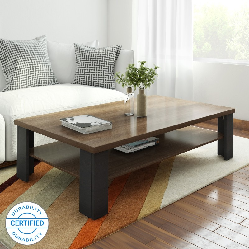 Wooden Coffee table : Bluewud Oliver Engineering Wooden Coffee table with finished colour
