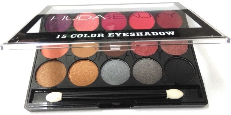 Huda Beauty Liquid Mattee 15 COLOR EYE SHADOW BLUSHER 15 g(BLACK)