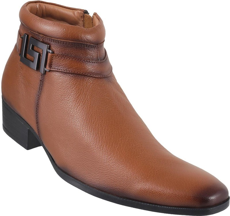 Mochi Awesome Boots For Men(Tan)