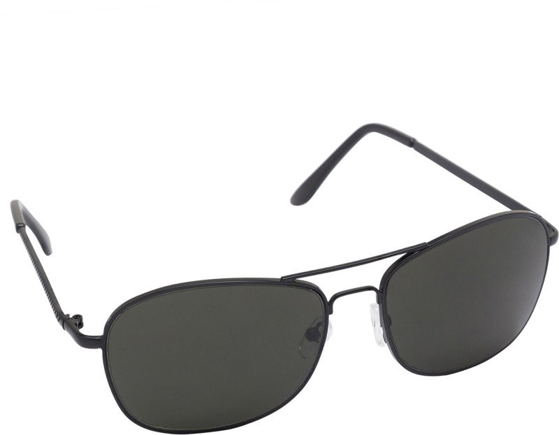 Gansta Wrap-around Sunglasses(Green) image