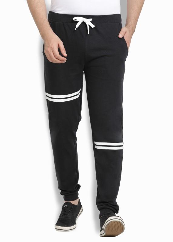 Billion Perfect Fit Printed Men Black Track Pants