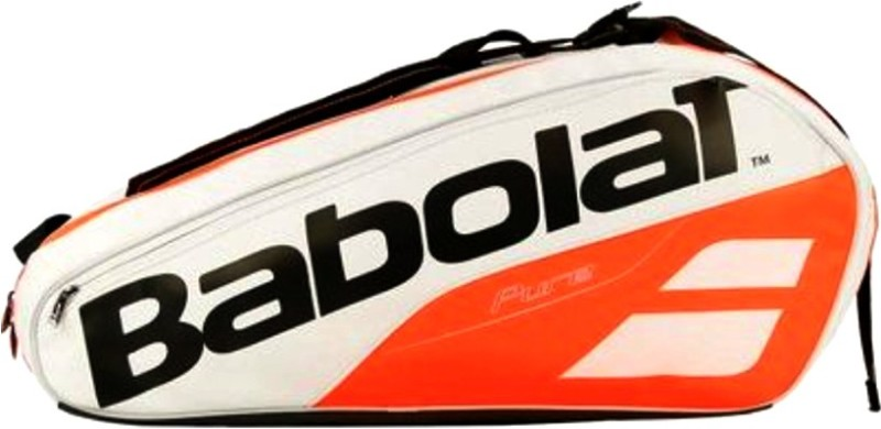 Babolat RHX6 PURE STRIKE Tennis Kit bag (white red) TENNIS KIT BAG(Red, Kit Bag)
