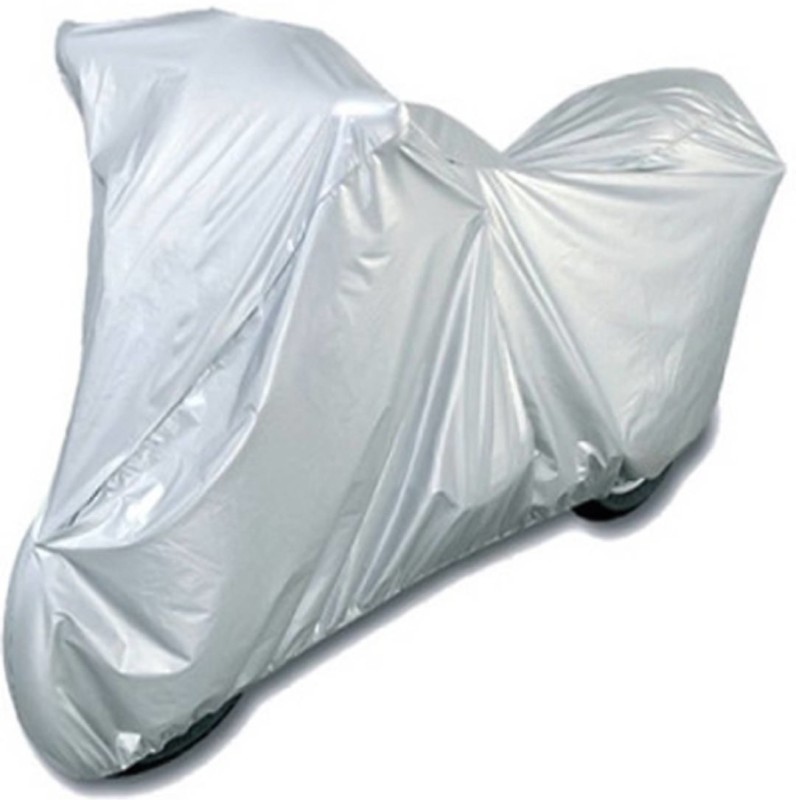 A+ RAIN PROOF Two Wheeler Cover for Hero(Silver)