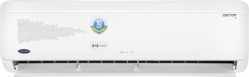 Carrier Hybridjet 1.5 Ton 3 Star Inverter AC - White(18K ESTER INVERTER ( 3 STAR) - H / CAI18ES3C8F0, Copper Condenser)