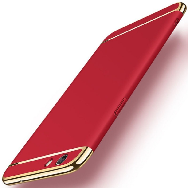 GoldKart Back Cover for OPPO A57(Red)
