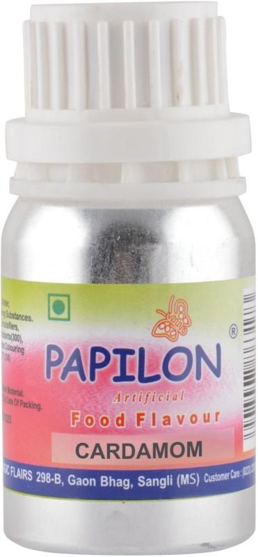 Papilon CONCENTRATED FLAVOUR CARDAMOM 50ML Cardamon Liquid Food Essence(50 ml)