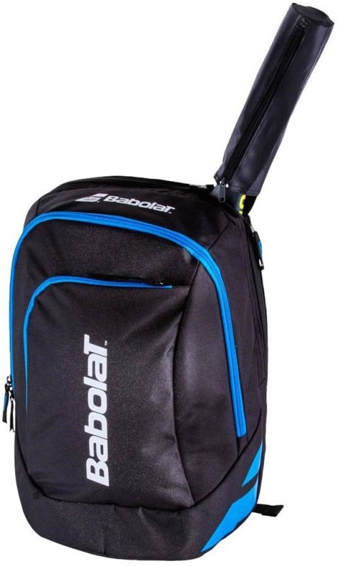 Babolat CLASSIC CLUB Tennis (Black Blue) BACKPACK(Blue, Backpack)