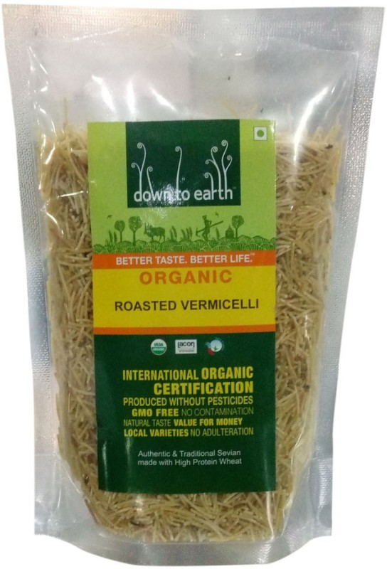 Down to Earth Roasted Vermicelli 250 g(Roasted)