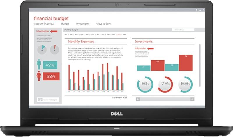 Dell Vostro 15 3000 Celeron Dual Core - (4 GB/1 TB HDD/Linux) 3568 Laptop(15.6 inch, Black, 2.18 kg)
