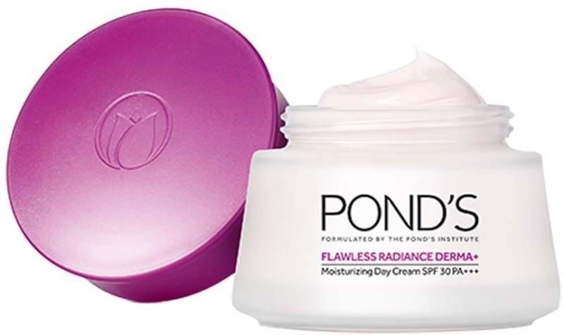 Ponds Flawless Radiance Derma Plus Moisturizing Day Cream(50 g)
