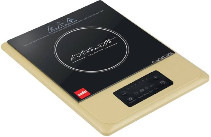 Cello IC - 700 A Induction Cooktop(Black, Touch Panel)