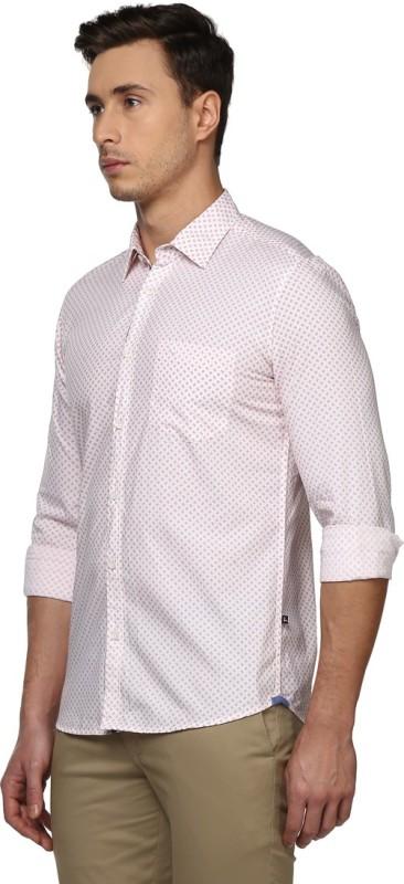 Parx Mens Printed Formal Shirt
