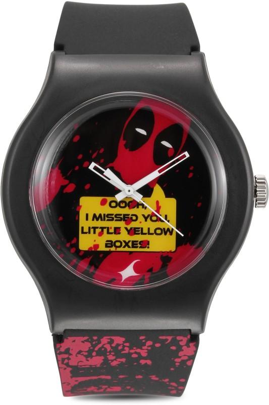 Fastrack 9915PP80 Deadpool Women's Watch image