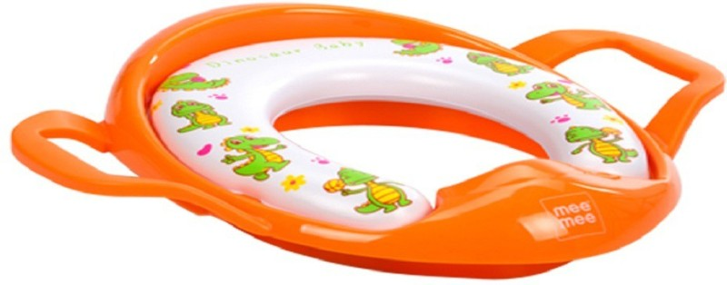 MeeMee Soft Cushioned Potty Seat with Support Handles Potty Seat(DARK ORANGE)