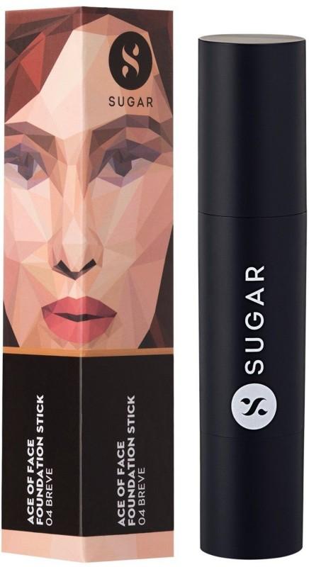 Sugar Ace Of Face Foundation Stick Foundation(Shade No.- 04 Breve (Medium Beige), 12 g)