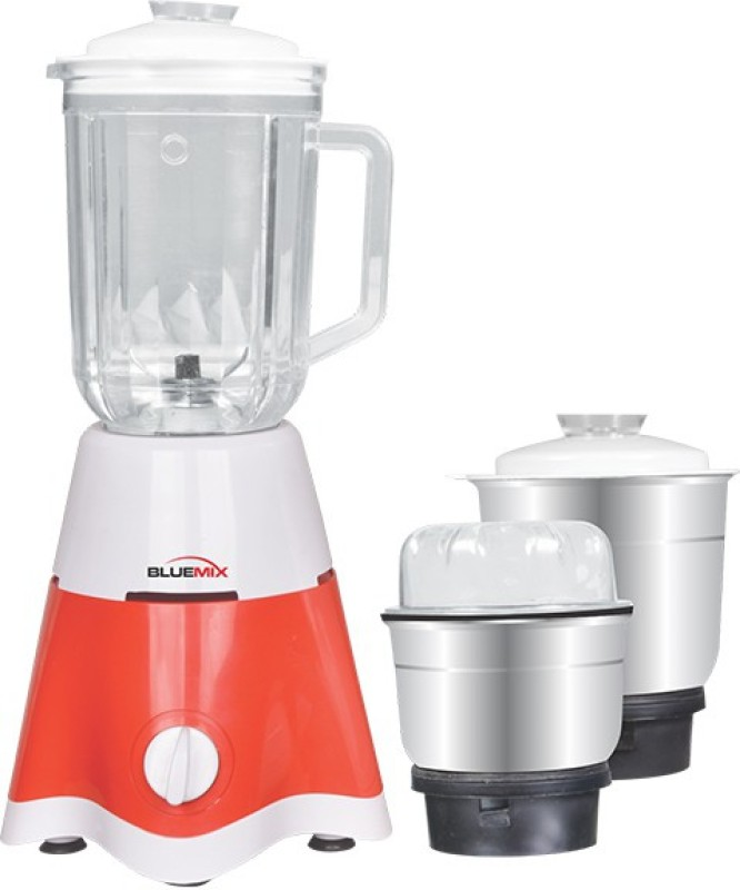 bluemix OHAMMBM3 BM3 550 W Mixer Grinder(Red, 3 Jars)
