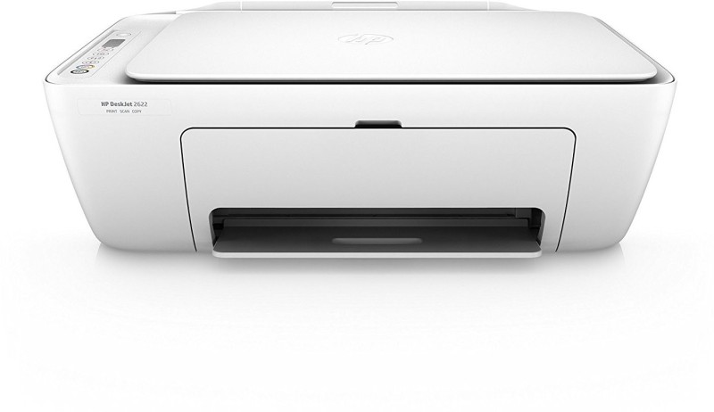 HP 2622 Multi-function Wireless Color Printer(White, Ink Cartridge)
