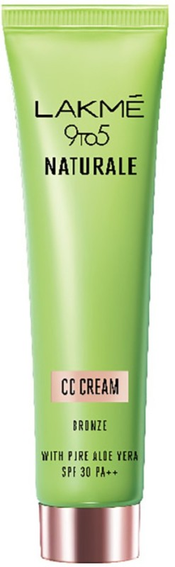 Lakme 9 to 5 Naturale Bronze CC Cream - SPF 30 PA++(30 g)