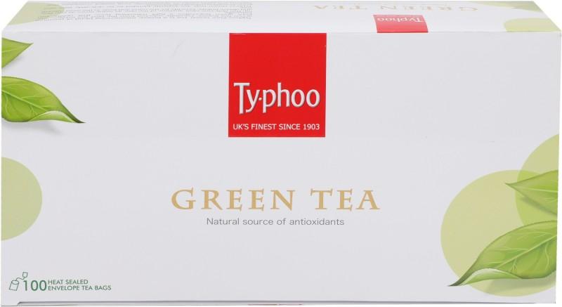 Typhoo Green Tea Bags(100 Bags, Box)