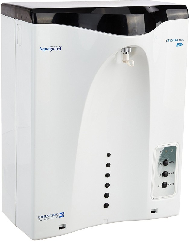Eureka Forbes Aquaguard Crystal Plus 7 L RO + UV Water Purifier(White)