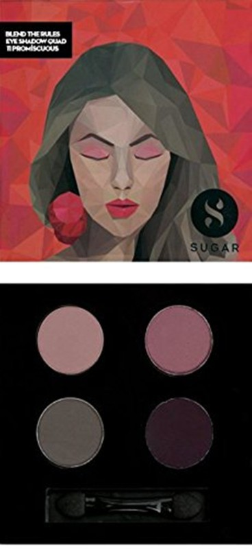 Sugar Blend The Rules Eyeshadow Quad 5 g(Shade No.- 11 Promiscuous)