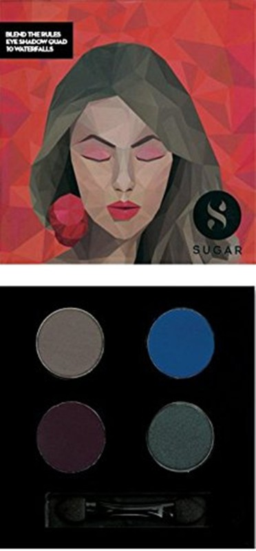 Sugar Blend The Rules Eyeshadow Quad 5 g(Shade No.- 10 Waterfalls)