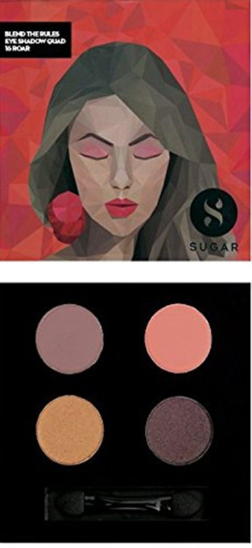 Sugar Blend The Rules Eyeshadow Quad 5 g(Shade No.- 16 Roar)