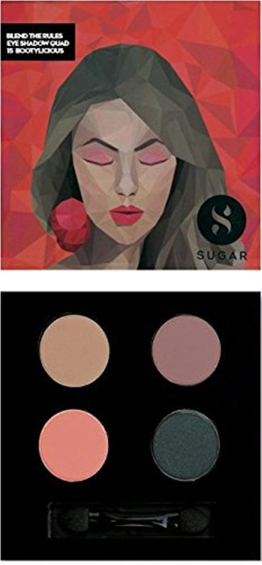 Sugar Blend The Rules Eyeshadow Quad 5 g(Shade No.- 15 Bootylicious)