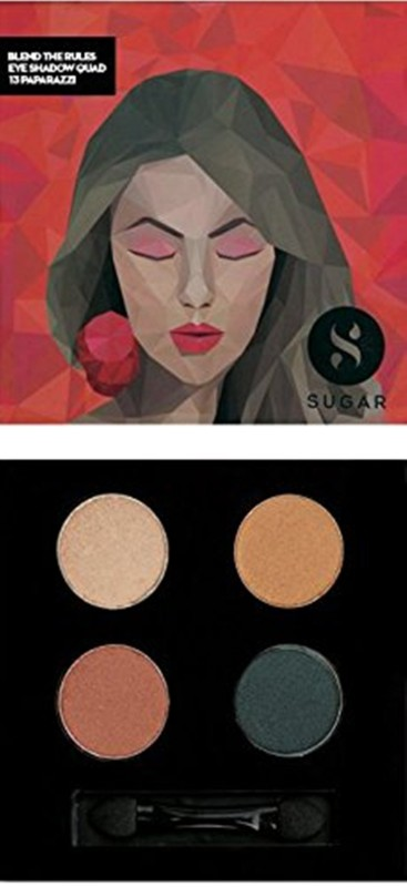 Sugar Blend The Rules Eyeshadow Quad 5 g(Shade No.- 13 Paparazzi)