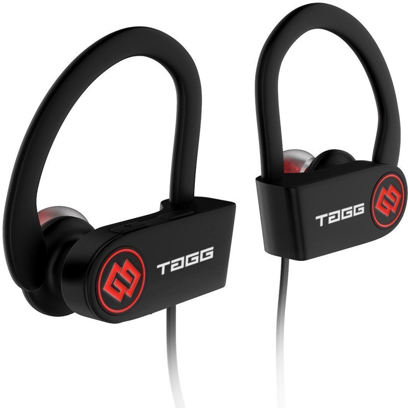 TAGG Inferno Bluetooth Headset with Mic(Black, In the Ear)