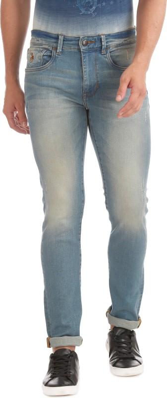 U.S. Polo Assn Skinny Men Blue Jeans