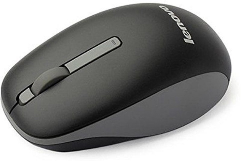 Lenovo N100 Wireless Mouse  Wireless Optical Mouse(2.4GHz Wireless, Black)