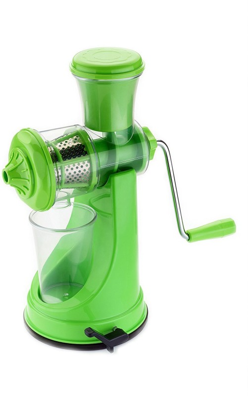 Vinayak Plastic Hand Juicer(Green Pack of 1)
