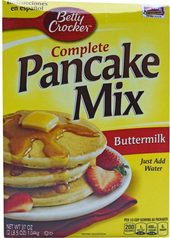 Betty Crocker Complete Pancake Mix, Original - 1.04kg (37oz) 1040 g