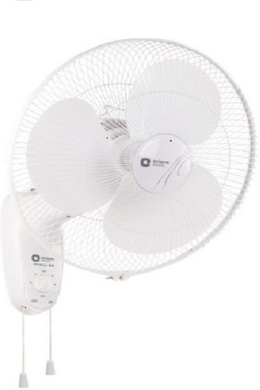 Orient Wall44 3 Blade Wall Fan(Crystal white)