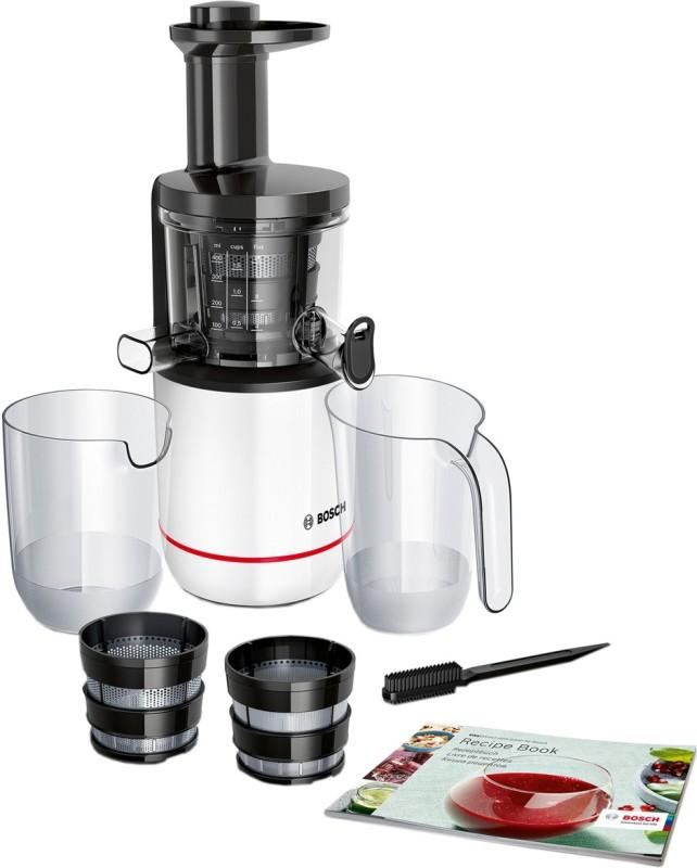 Bosch Comfort Slow Juicer MESM500W 150 W Juicer(White, 2 Jars)
