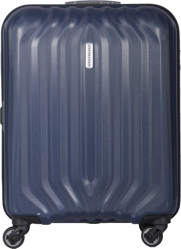 Aristocrat Aston Nxt Hard Trolley 55 cm (Blue) Cabin Luggage - 22 inch(Blue)