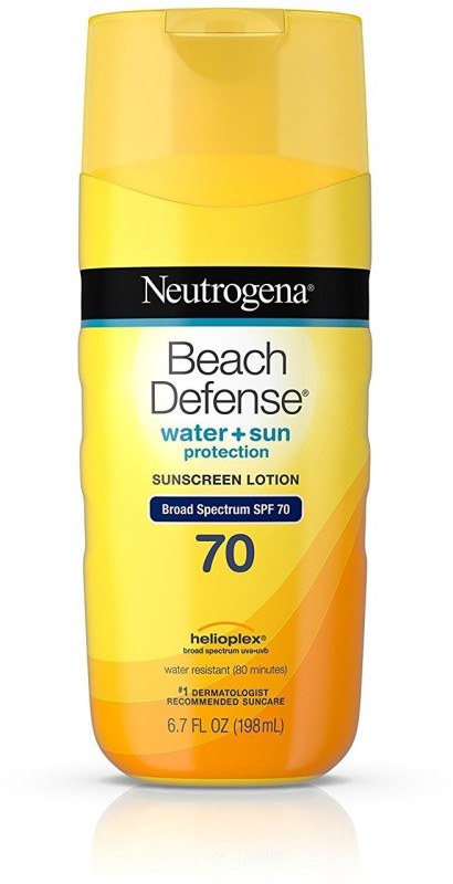 Neutrogena Beach Defense Sunscreen Lotion With Broad Spectrum Spf 70 Protection, 6.7 oz - SPF 70 PA++++(198 ml)