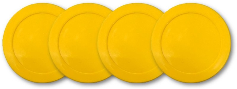 KBA Yellow Air Hockey Puck(Pack of 4)