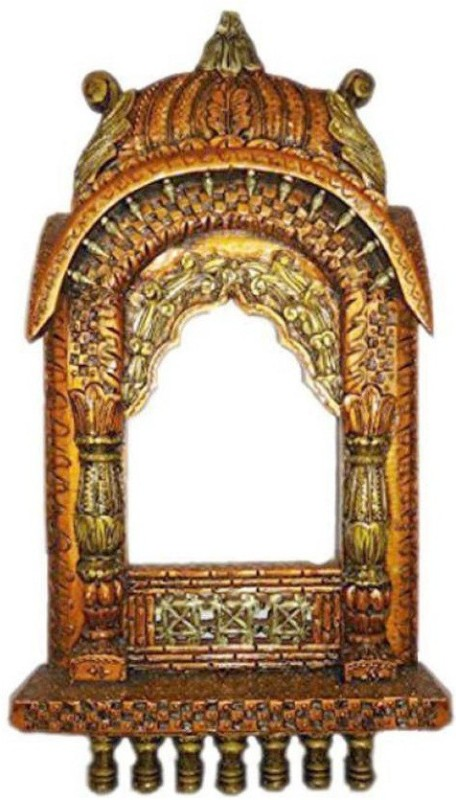 VAS Collection Home Wood Jharokha(62 x 31 Handcrafted)