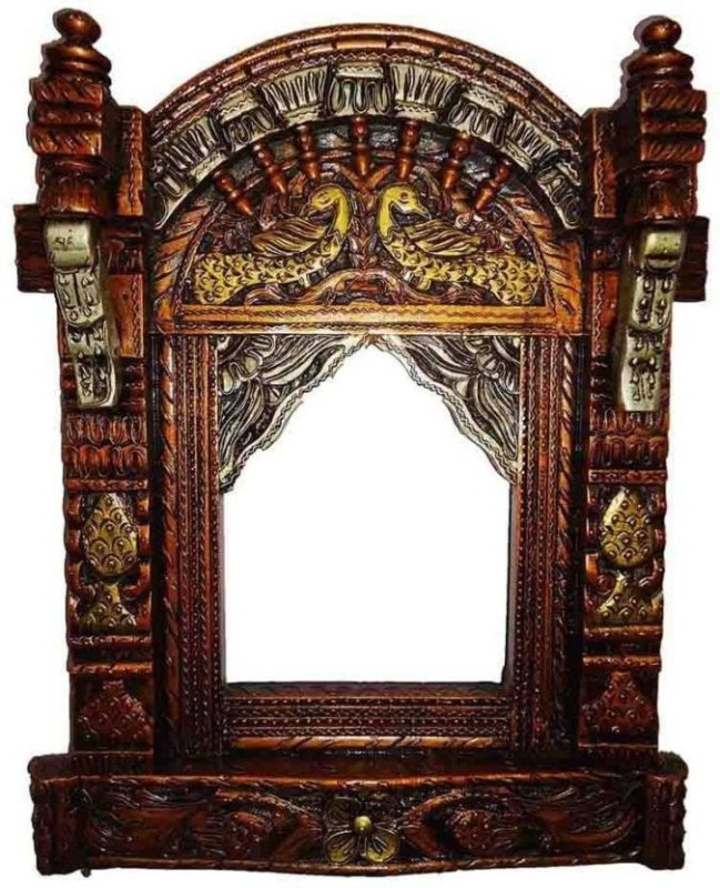 VAS Collection Home Wood Jharokha(68 x 50 Handcrafted)