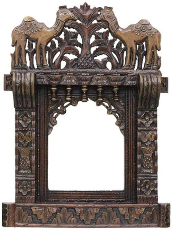 VAS Collection Home Wood Jharokha(68 x 45 Handcrafted)