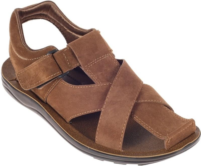 Khadim's Men Brown Flats