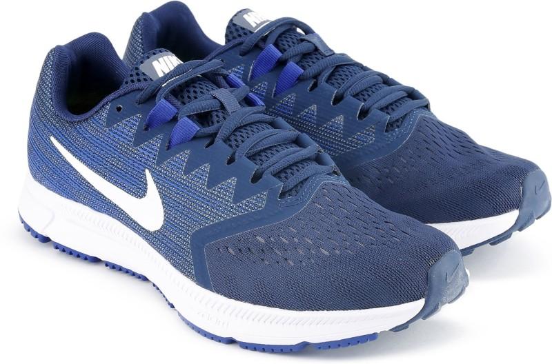 Nike NIKE ZOOM SPAN 2 Running Shoes For Men(Navy)