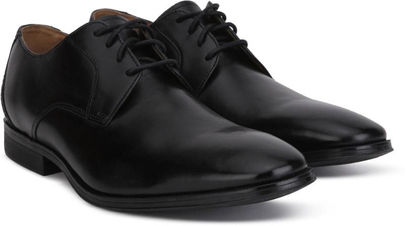 Clarks Gilman Lace Formal Shoes For Men(Black)