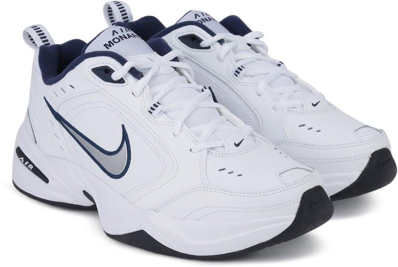 Nike AIR MONARCH IV Gym & Training Shoes For Men(White)